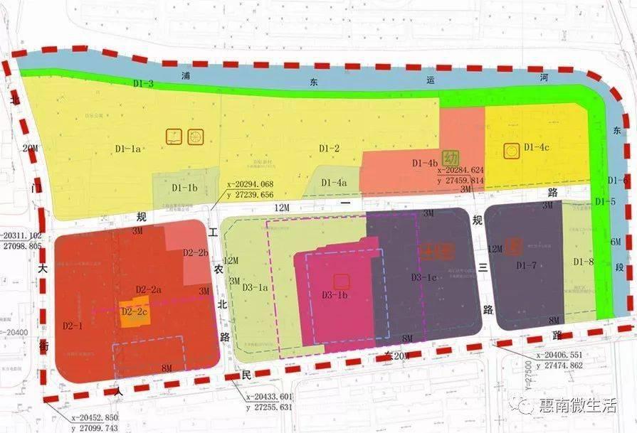 南汇老中心医院区域规划图