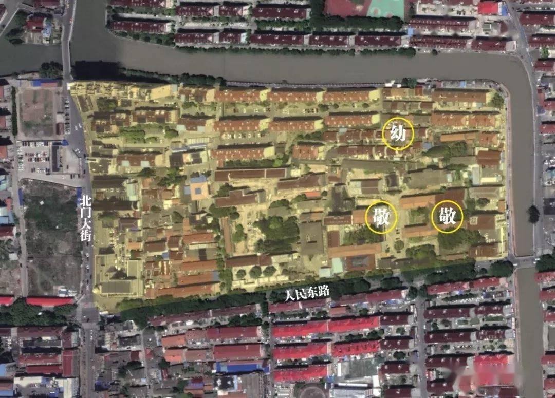 惠南养护院卫星图